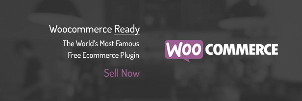 Woocommerce Ready / The World's Most Famous Free Ecommerce Plugin / Sell Now