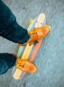 Hipster Skateboard
