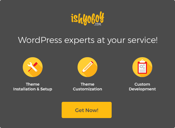 IshYoBoy.com - WordPress experts at your service!