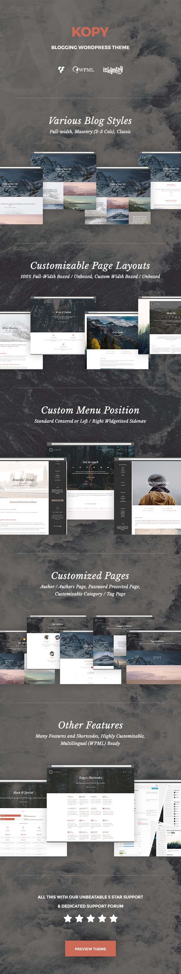 Kopy - Blogging WordPress Theme