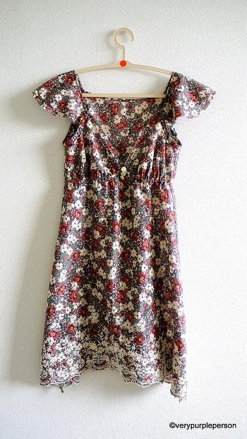 Floral dress - Front