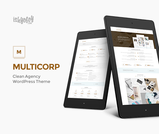 IshYoBoy | Multicorp - Clean Business WordPress Theme