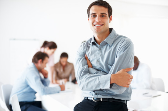 photodune-648862-business-man-smiling-in-meeting-m