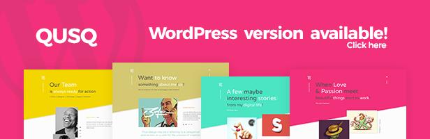 IshYoBoy | Qusq WP - Colorful Unique Portfolio WordPress Theme